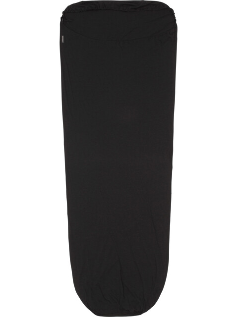 Cocoon MummyLiner Sisämakuupussi Merino Wool , musta